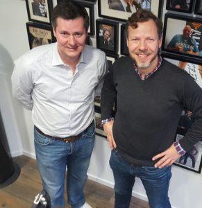 Foto Ben Tiggelaar en Glenn van der Burg